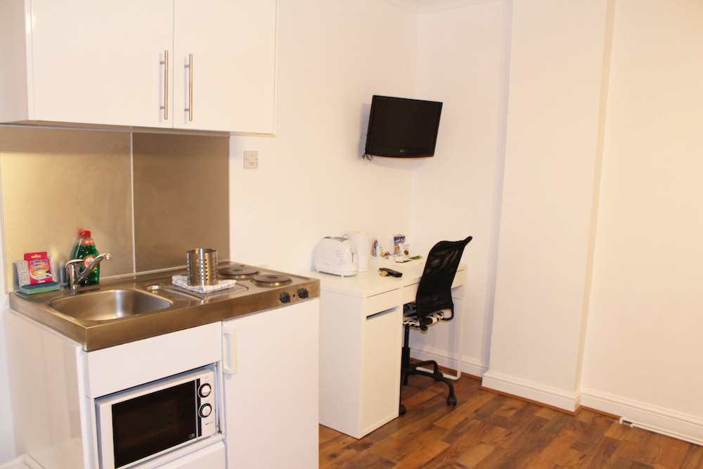 Kitchenette and Work Desk